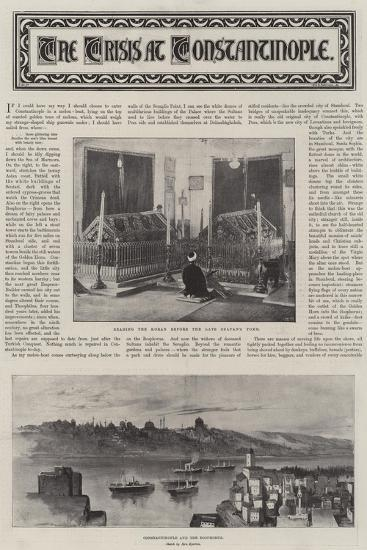 The Crisis at Constantinople--Giclee Print