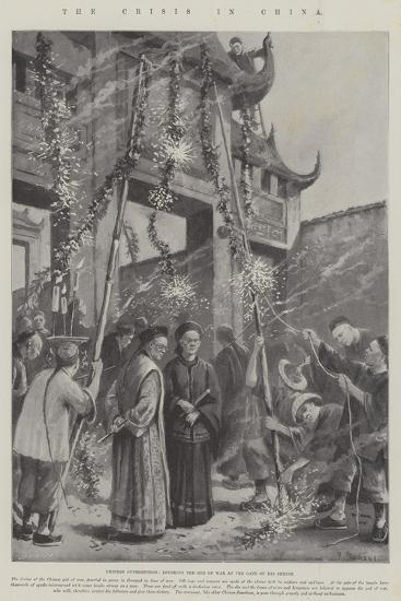 The Crisis in China-Paul Frenzeny-Giclee Print