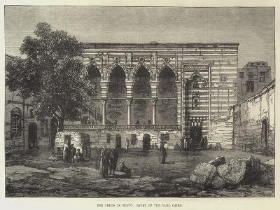 The Crisis in Egypt, Court of the Cadi, Cairo--Giclee Print