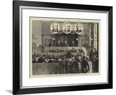 The Crisis in Ireland, Opening of the Court of the Land Commission-Joseph Nash-Framed Giclee Print