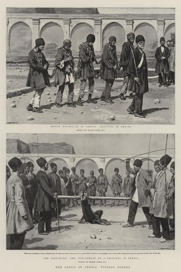 The Crisis in Persia, Typical Scenes-Frank Dadd-Giclee Print
