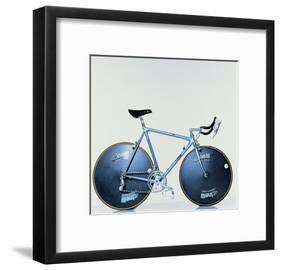 The Crono Road Model of Laser Bicycle (Cinelli, Milan)-Johannes Handschin-Framed Giclee Print