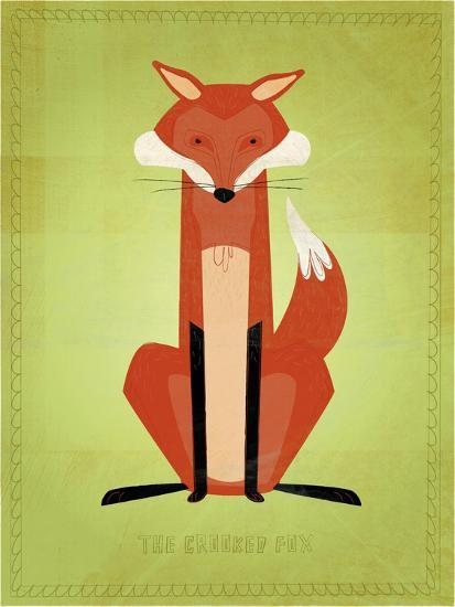 The Crooked Fox-John W Golden-Giclee Print