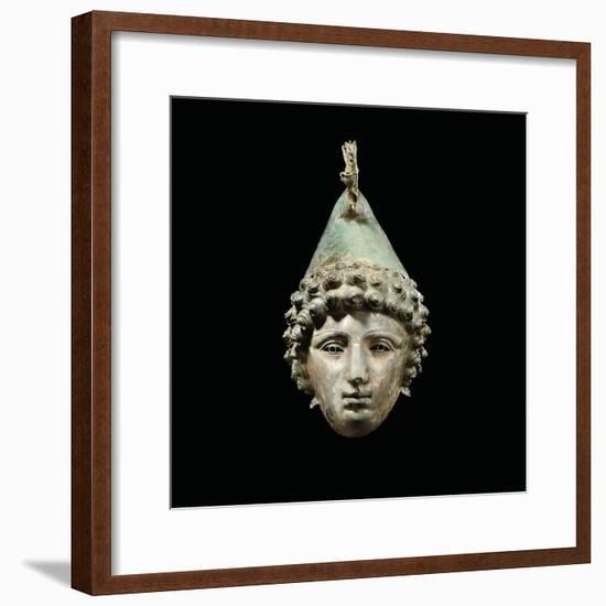 The Crosby Garrett Helmet, Late 1st-2nd Century Ad-Roman-Framed Giclee Print
