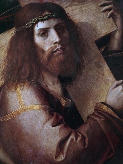 The Cross Bearing Christ-Bartolomeo Montagna-Giclee Print