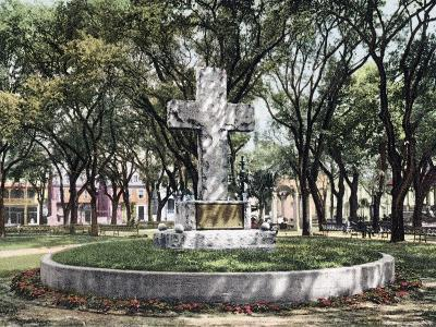 The Cross Bienville Park Mobile Alabama--Giclee Print