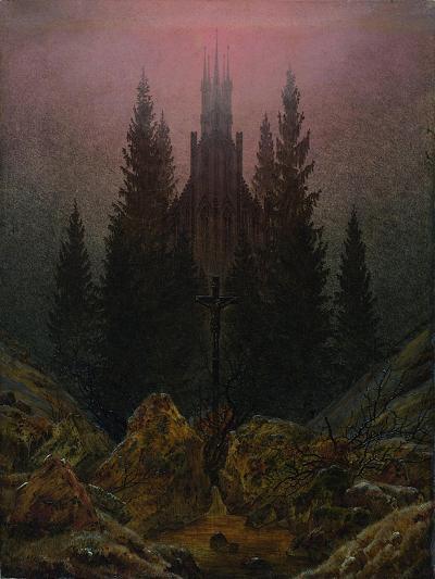 The Cross in the Mountains, Ca 1812-Caspar David Friedrich-Giclee Print