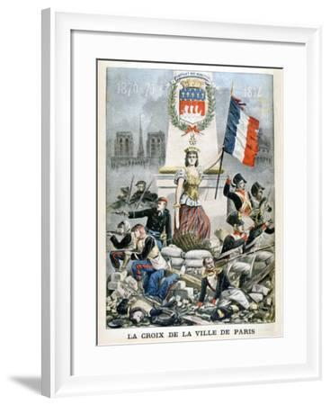 The Cross of the City of Paris, 1901--Framed Giclee Print