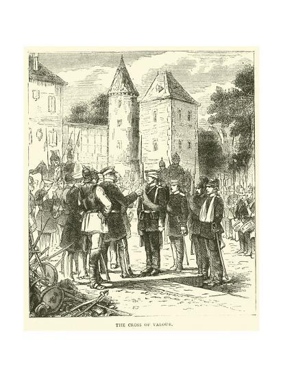 The Cross of Valour, September 1870--Giclee Print
