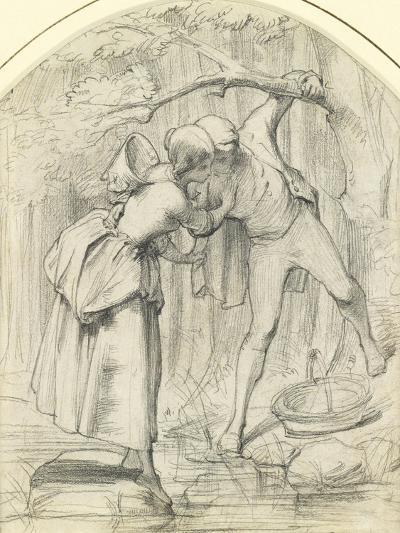 The Crossing, C.1860-John Richard Clayton-Giclee Print