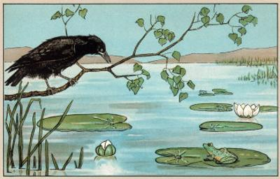 The Crow and the Frog