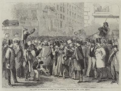 The Crowd at Baltimore Waiting for Mr Lincoln, President of the United States-Thomas Nast-Giclee Print