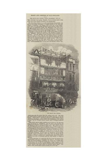 The Crown Inn, Oxford--Giclee Print