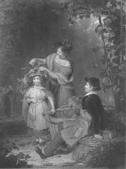 'The Crown of Hops', 1843-1850-Herbert Bourne-Giclee Print