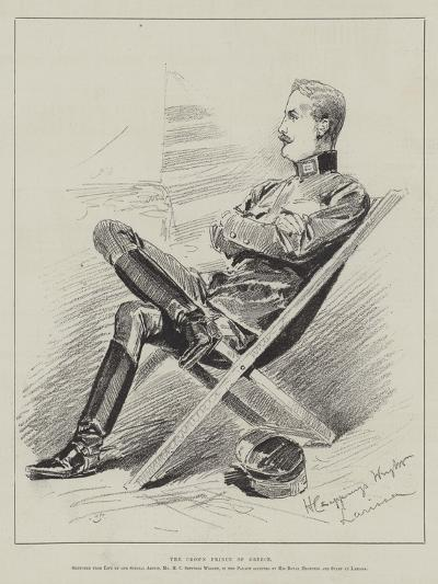 The Crown Prince of Greece-Henry Charles Seppings Wright-Giclee Print