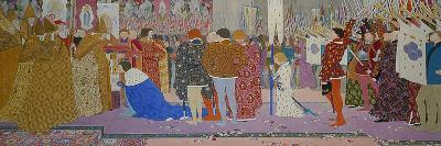 The Crowning at Reims of the Dauphin, from Joan of Arc Series E, 1907-Louis Maurice Boutet De Monvel-Giclee Print