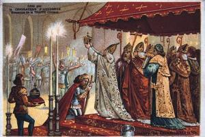 The Crowning of Charlemagne, 800 Ad