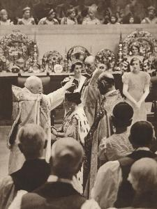 The Crowning of Queen Elizabeth, Wife of King George Vi, 1937