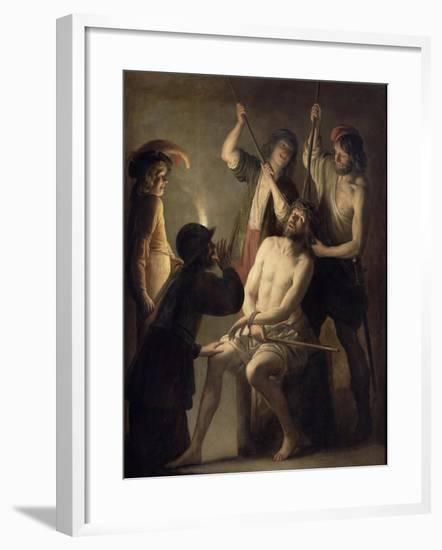 The Crowning with Thorns-Jan Janssens-Framed Giclee Print
