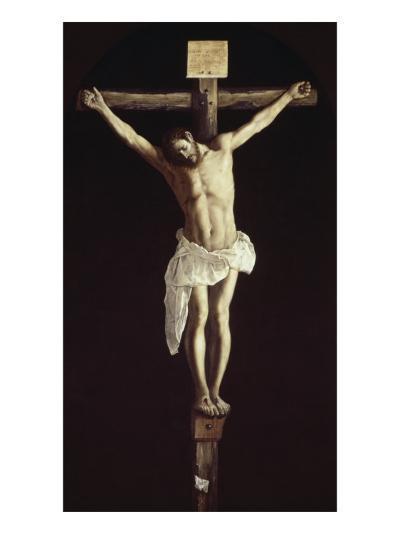 The Crucified Christ-Francisco de Zurbar?n-Giclee Print
