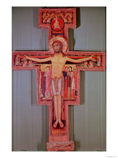 The Crucifix of St. Damian--Giclee Print