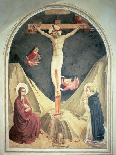 The Crucifixion, 1442-Fra Angelico-Giclee Print