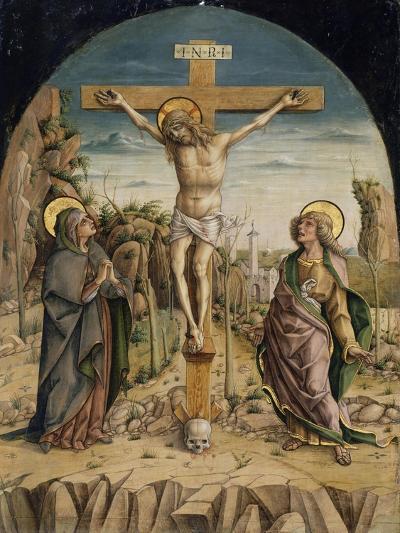 The Crucifixion, C.1487-Carlo Crivelli-Giclee Print