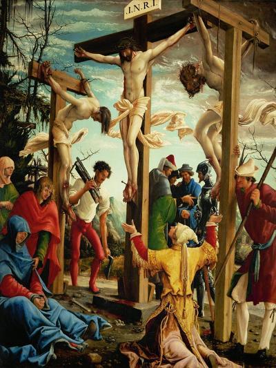 The Crucifixion, from the Saint Sebastian Altar, 1518-Albrecht Altdorfer-Giclee Print