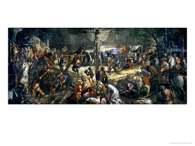The Crucifixion of Christ, 1565-Jacopo Robusti Tintoretto-Giclee Print