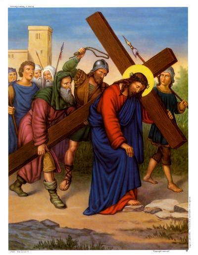 The Crucifixion of Christ--Art Print