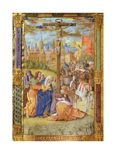 The Crucifixion of Jesus--Giclee Print