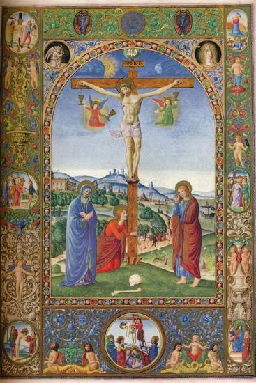 The Crucifixion: with Virgin, Mary Magdalene and St John, 1937--Giclee Print