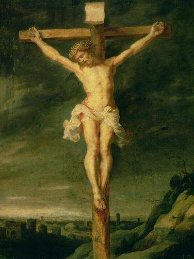 The Crucifixion-Peter Paul Rubens-Giclee Print