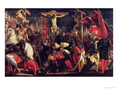 The Crucifixion-Jacopo Robusti Tintoretto-Giclee Print