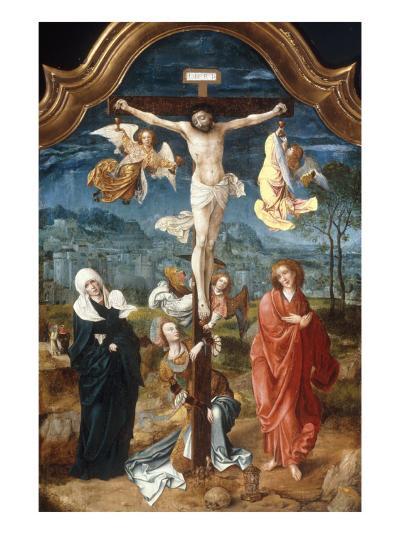 The Crucifixion-Jan De Beer-Giclee Print