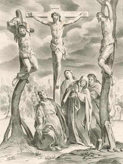 The Crucifixion-Hendrik van the Elder Balen-Giclee Print