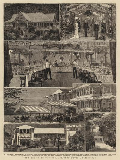 The Cruise of the Royal Cadets, Notes at Trinidad--Giclee Print
