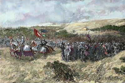 The Crusades. 12th Century. Crusaders Army--Giclee Print