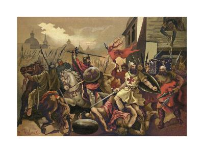 The Crusades--Giclee Print