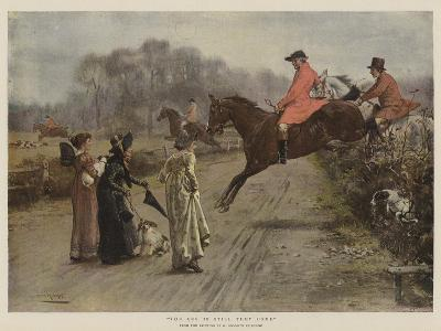 The Cry Is Still They Come-George Goodwin Kilburne-Giclee Print