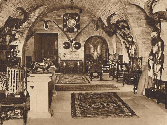 The Crypt, Glamis Castle', c1933 (1937)-Unknown-Photographic Print
