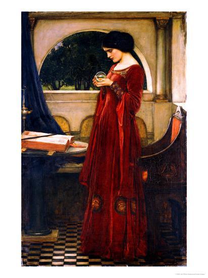 The Crystal Ball, 1902-John William Waterhouse-Giclee Print
