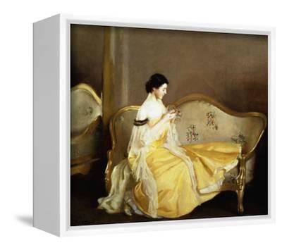 William McGregor Paxton Tea Leaves Giclee Canvas Print