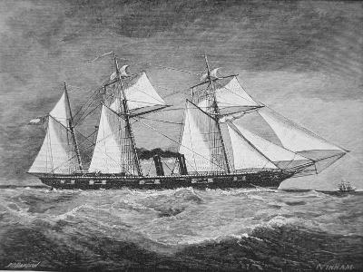 The CSS Florida--Giclee Print
