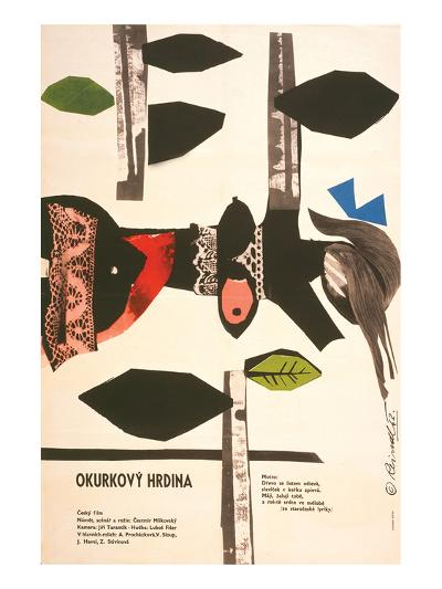 The Cucumber Hero-Okurkovy--Art Print