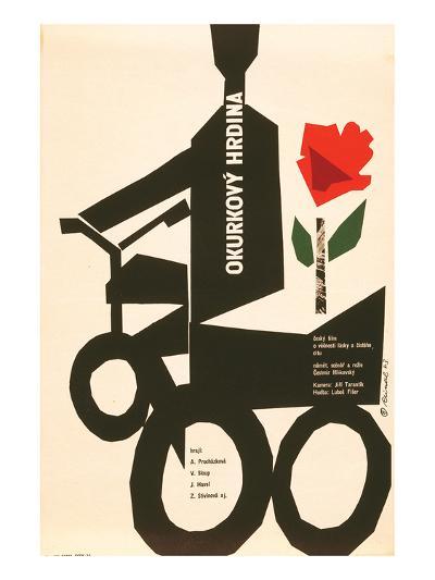 The Cucumber Hero-Okurkovy--Premium Giclee Print