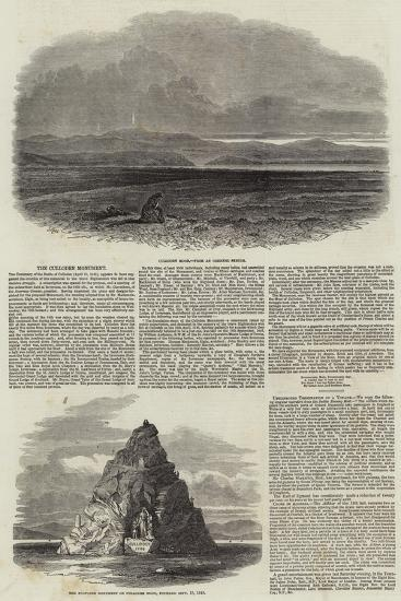 The Culloden Monument-Samuel Read-Giclee Print