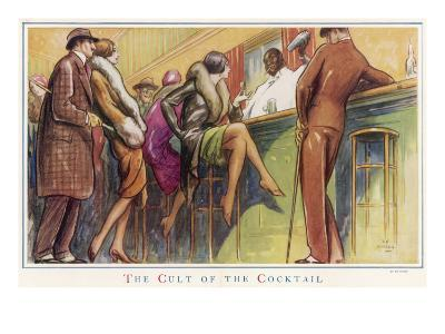 The Cult of the Cocktail--Giclee Print