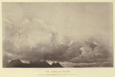 The Cumulus Cloud--Giclee Print