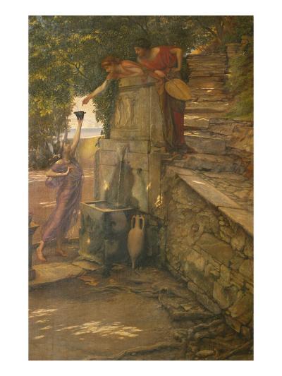 The Cup of Tantalus-Edward John Poynter-Giclee Print
